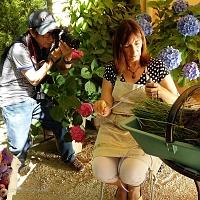 Marie Mil photographiée par Ikuo, photographe japonais