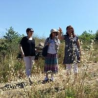 Interview de Marie Mil par la journaliste Mme Mizusaki