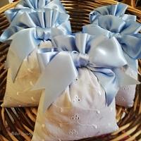 Sachets de lavande pour naissance, impression personnalisée