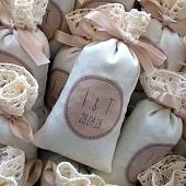 Sachets de lavande pour mariage