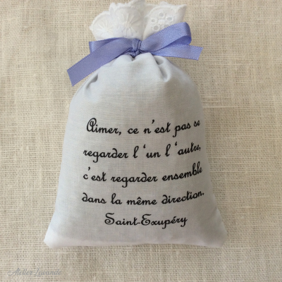 "Sachet de lavandin "" Aimer"