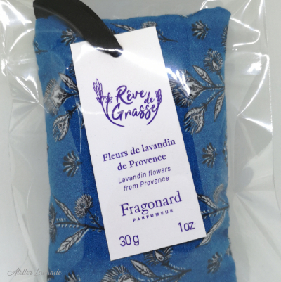 Travail à façon sachets de lavande de Provence pour Fragonard
