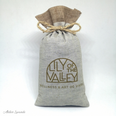 Sachets de lavande, impression personnalisée Lily of The Valley