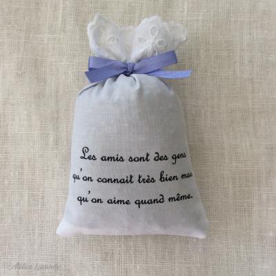 """Sachet de lavandin """"Les amis"""