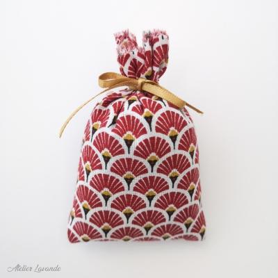 Sachet de lavande de Provence, imprimé motif égypte