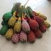 Fuseaux de lavande de Provence avec rubans de couleur