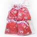 4 sachets de lavande de Provence en tissus imprimé à motif floral Carmen