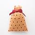 Sachet de lavande de Provence avec tissus imprimé motif géométrique floral