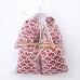 4 Sachets de lavande de Provence, imprimé motif égypte