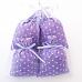 Sachet de lavande de Provence avec tissus imprimé motif floral Lilas